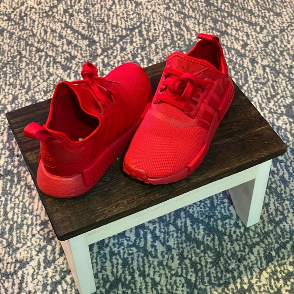 Adidas Shoes Nmd Red Poshmark